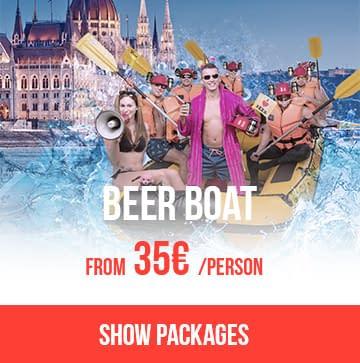 Beer Boat Packages