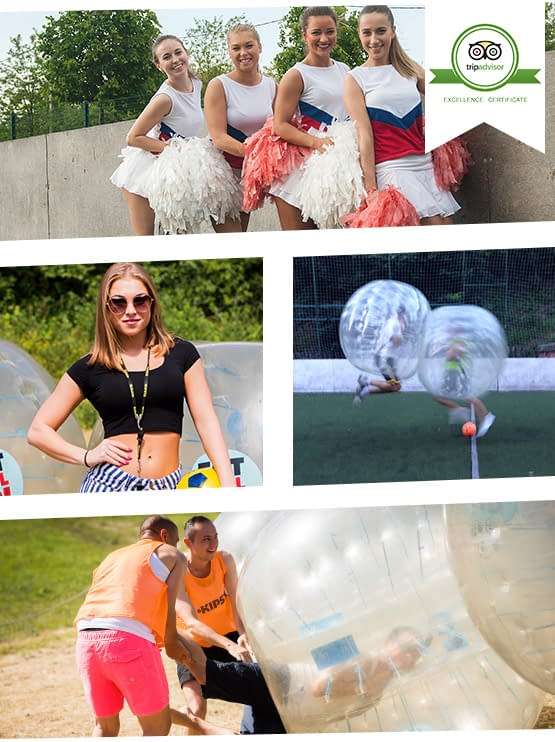 Bubble Ball Budapest - TripAdvisor Best Rated